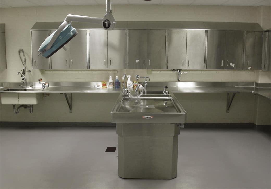 necropsy lab
