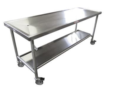Standard Anatomy Dissection Table, Creased Top