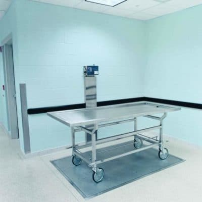 Floor Scale with Digital Readout without Ramps