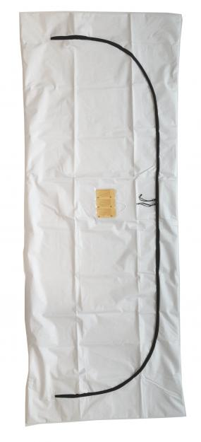 Body Bag, Envelope Zipper, Chlorine-Free PEVA – BE066