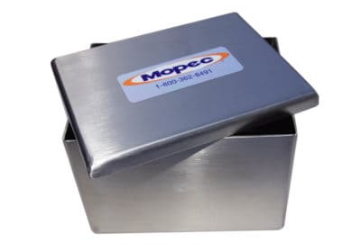 Stainless Steel Staining Dish with Cover – 30 Slide – BG002