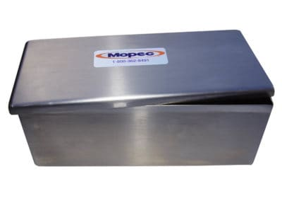 Stainless Steel Staining Dish with Cover – 60 Slide – BG006