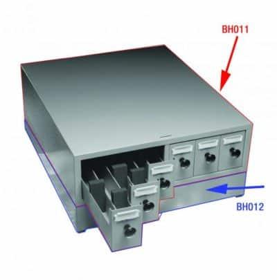 Microslide Storage Cabinet – 6 Drawer – BH011
