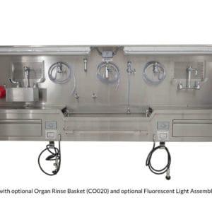 Autopsy Sink – Wall Mount, Center Approach – CC100