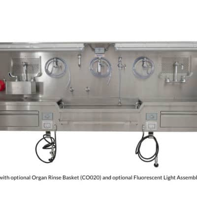 Autopsy Sink - Wall Mount, Center Approach - CC100