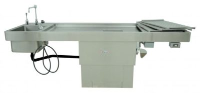 Autopsy Table – Elevating Pedestal Style – CE200