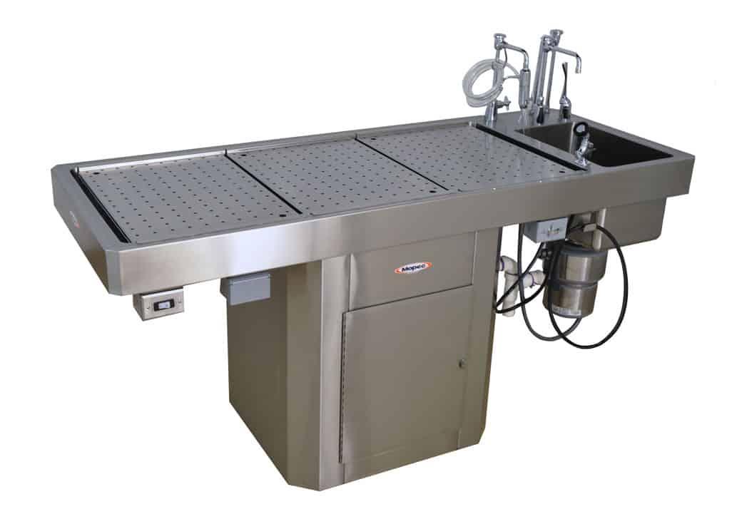 Autopsy Table Short Pedestal Style Ce400