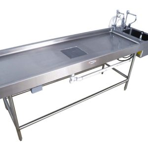Autopsy Table, Non-Vented with Leg Frame – CE500