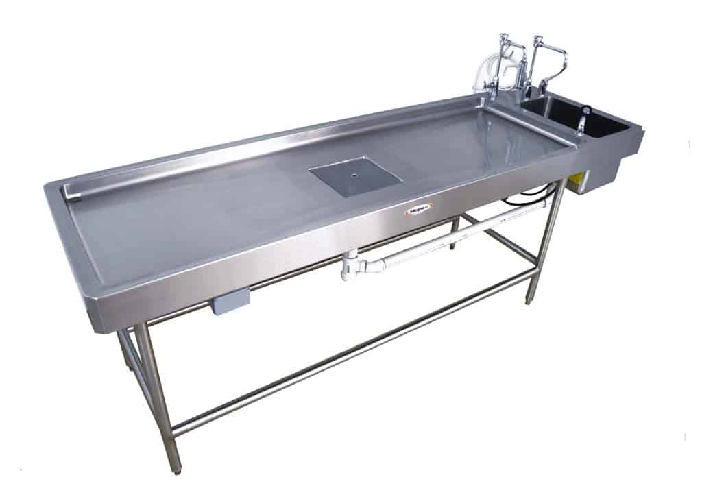 Autopsy Table - Non-Vented with Leg Frame - CE500
