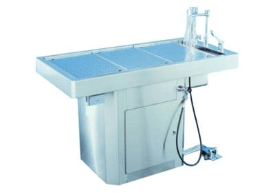 Autopsy Table, Pediatric Pedestal Style with Various Lengths