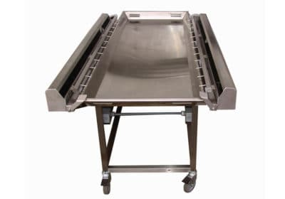 """Embalming Cart with 23"""" Tray"""