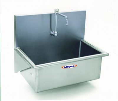 Autopsy Scrub Sink – Single Faucet – CH100