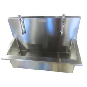Autopsy Scrub Sink – Double Faucet – CH200