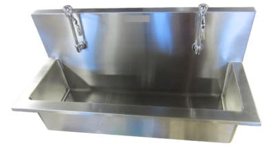 Autopsy Scrub Sink – Double Faucet – CH200