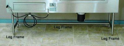 Autopsy & Embalming Sink Leg Frame  – CO001