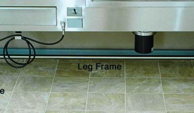 Autospy Sink Leg Frame (CA100, CB100, CF100, CF200)