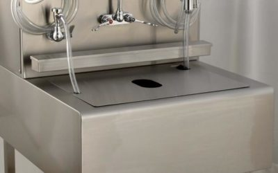 Large Fitted Sink Cover for Aerosols Containment – CO024