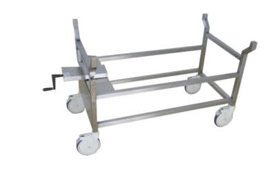 Autopsy Cart – Tilting Chassis with GA300 Top – DB300
