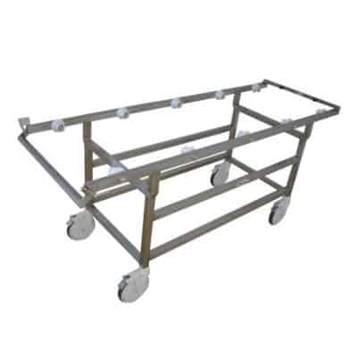 Autopsy Cart -Roller Type Chassis Only for 32″ Tray – DE401