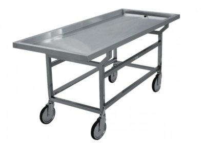 Removable Grid Plate Autopsy Cart – DF100