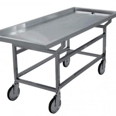Autopsy Cart - Removable Grid Plates - DF100