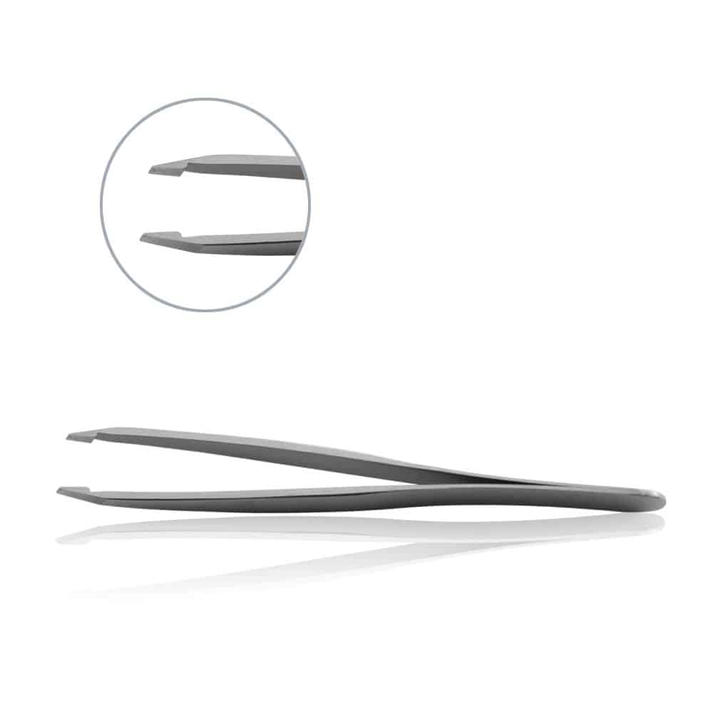 Delicate Flat Angle Tip Forceps