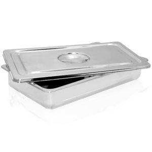 Instrument Tray Set with Flush Handle, 12.75″ x 7.5″ x 2″ – BA014