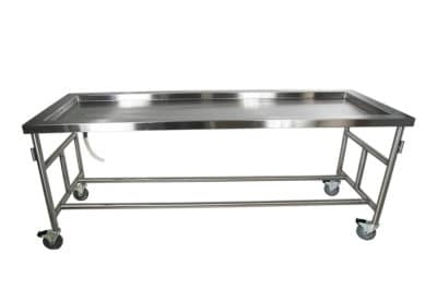 Standard Anatomy Dissection Table, Recessed Top