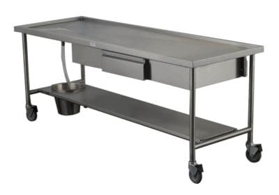 Dissection Table, Creased Top with Drawers – HA400