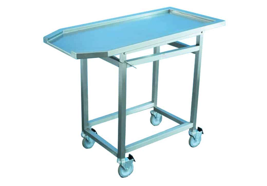 Autopsy Cart - Tilting Dissection Top - HE100