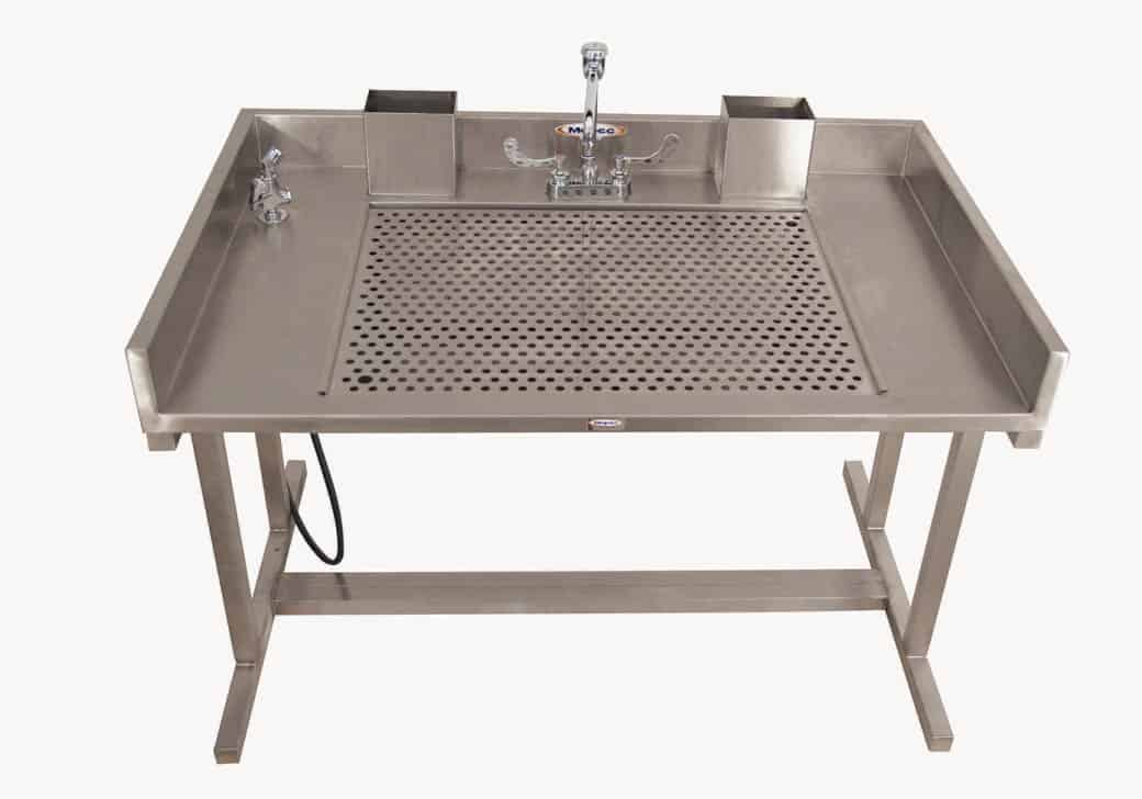 Grossing Station Downdraft Sitting Dissection Table Hg500