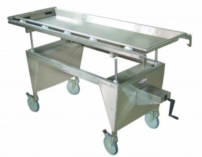 Elevating C-Arm X-Ray Autopsy Cart, Tray Not Included- HL100
