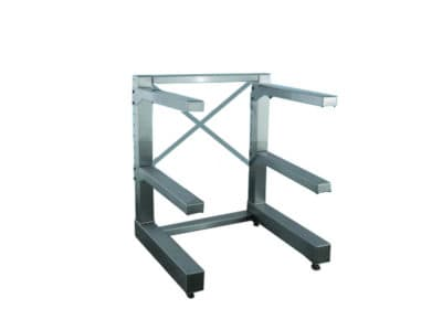 Stationary Cantilever Storage Rack – 3 Tier, Various Arm Lengths