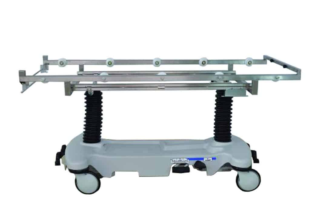 Cadaver Carrier - Hydraulic Roller Style for JC101 Tray - JA631