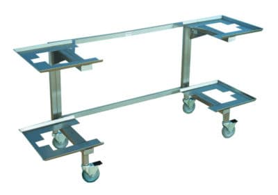 Carrier – Two Body for JC100Trays – JB000