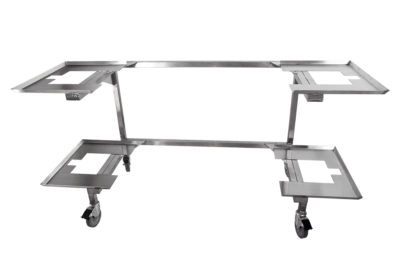 Cadaver Carrier – For Two-Body Trays, Various Widths