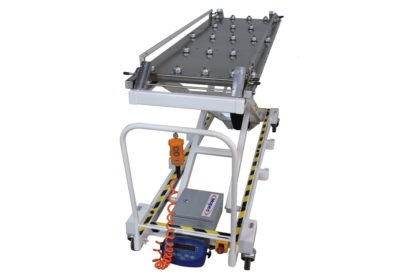 Cadaver Lift Conveyor Style Side Access 23″ Tray – JD955