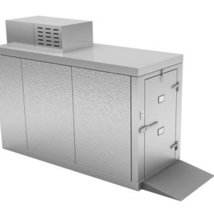 Two Body Roll-In Morgue Refrigerator ,Freezer Option Available, Various Dimensions