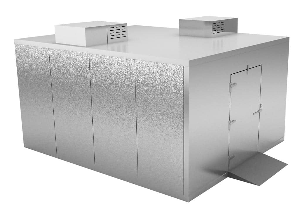 Freezer Walk In 6 To 8 Body System For Morgue Ke501