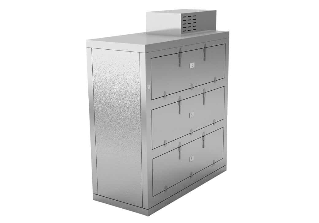 Refrigerator - Conveyor Side Opening 3 Body