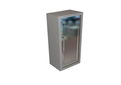 Wall Cabinet – Steel Swing Door with 2 Shelves, Various Dimensions & Openings