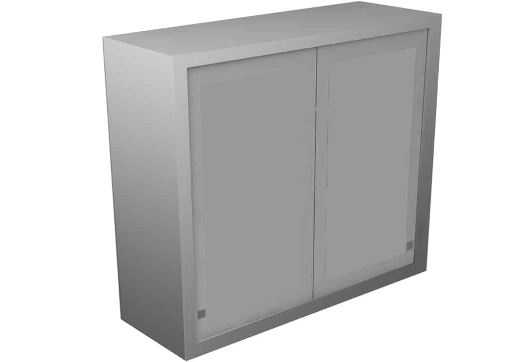 Wall Cabinet Sliding Steel Doors 3