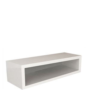 Wall Cabinet, Open Front, Wall Mounted