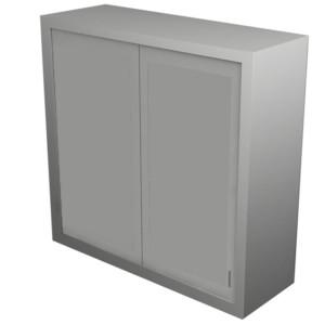 Dead Wall Corner Cabinet – Solid Door with Various Heights & Openings