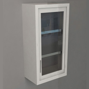 Wall Cabinet – Swing Door with 3 Shelves, Various Dimensions & Openings