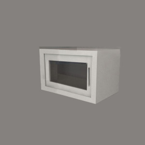 Wall Cabinet – Swing Door with No Shelf, Various Dimensions & Openings