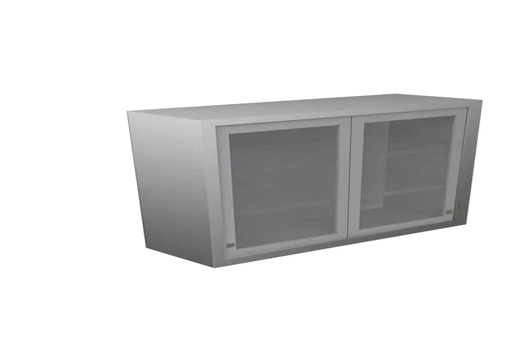 Wall Cabinet Sliding Door With No Shelf Various Lengths