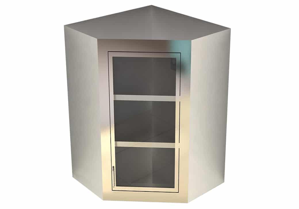 Merveilleux Dead Wall Corner Cabinet   LB282 25