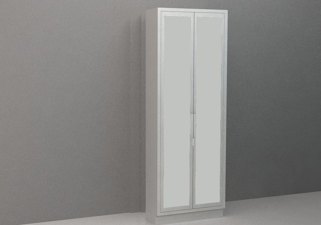Tall Cabinet – Solid Sliding Doors, Various Dimensions