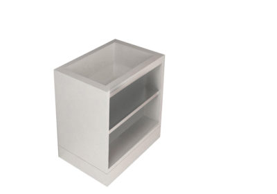 Base Cabinet with Open Face, Various Lengths